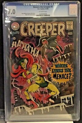 "Beware the Creeper #1 (May-Jun 1968, DC) F/VF 7.0 CGC ""STEVE DITKO-C/A"""