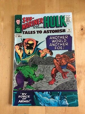 Tales To Astonish # 73 / Fine / Namor / Hulk / Price Variant.