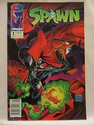 1992 Spawn Comic Book..no.1..may..image..mcfarlane..first Issue..mint/unread!!!!