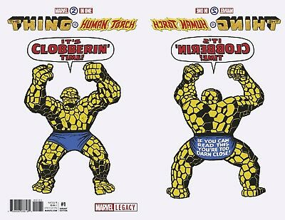 Marvel Two-In-One #1 Kirby 1965 T-Shirt Variant 1:50 Marvel Comics!!