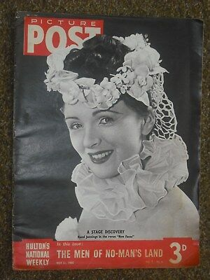 Picture Post magazines, 3 issues from 1940 Second World War, news & pictures