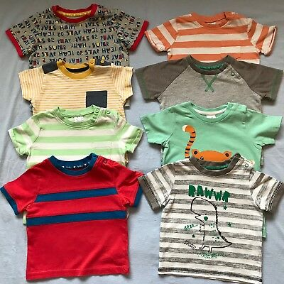 Baby Boys 6-9 Month Bundle T-shirts / Tops H&M Tu Perfect For Nursery / Playtime