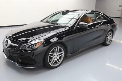 2016 Mercedes-Benz E-Class  2016 MERCEDES-BENZ E400 4MATIC COUPE SUNROOF NAV 26K MI #337243 Texas Direct