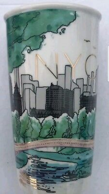 Sale !!! Starbucks 2017 Nyc Central Park New York Mug Tumbler 12 Fl Oz