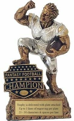 FANTASY FOOTBALL League Champion Monster Trophy (MR99302)DECADE AWARDS Exclusive