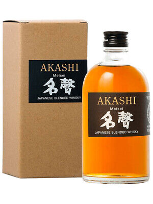 White Oak Akashi Meïsei Blended Japanese Whisky 500ml(Boxed)