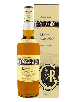 Cragganmore 12YO Scotch Whisky 700ml(Boxed)