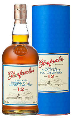Glenfarclas 12YO Highland Single Malt Scotch Whisky 700ml(Boxed)