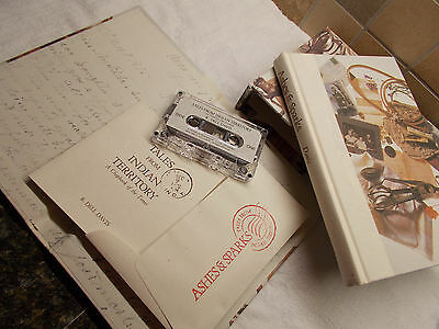 Ashes & Sparks by Dell Davis Historical Biography Book and Cassette in Slip Case