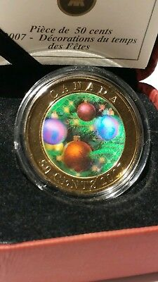 2007 Canada 3D Holiday Ornaments Coin