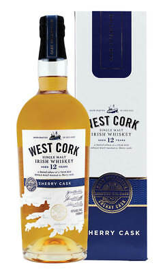 West Cork 12 Year Old Sherry Cask Irish Whiskey 700ml(Boxed)