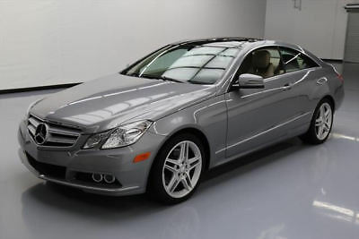 2011 Mercedes-Benz E-Class Base Coupe 2-Door 2011 MERCEDES-BENZ E350 COUPE P1 PANO SUNROOF NAV 54K #117004 Texas Direct Auto