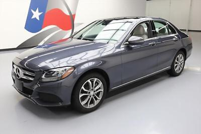 2016 Mercedes-Benz C-Class  2016 MERCEDES-BENZ C300 4MATIC AWD P1 PANO ROOF NAV 7K #146689 Texas Direct Auto