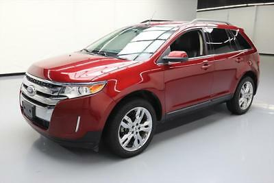 2013 Ford Edge Limited Sport Utility 4-Door 2013 FORD EDGE LIMITED HTD LEATHER NAV REAR CAM 30K MI #E07212 Texas Direct Auto