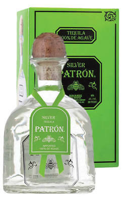 Patrón Silver Mexican Tequila 750ml(Boxed)