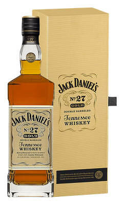 Jack Daniel's No.27 Gold Tennessee Whiskey 700ml (Boxed)