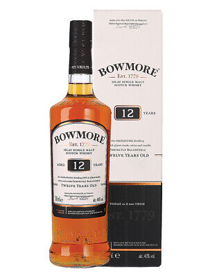 Bowmore 12YO Islay Single Malt Scotch Whisky 700ml(Boxed)