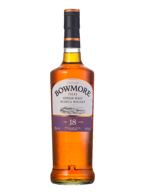 Bowmore 18YO Islay Single Malt Scotch Whisky 700ml (Boxed)