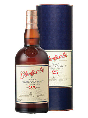 Glenfarclas 25YO Highland Single Malt Scotch Whisky 700ml(Boxed)