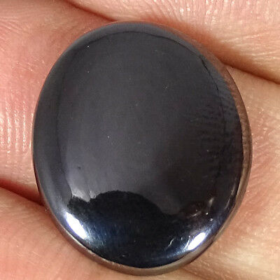 21.10Cts.100 % NATURAL HEMATITE OVAL CABOCHON FREE SHIPPING LOOSE GEMSTONES