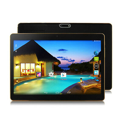 """10.1'' Tablet PC Android 6.0 Quad Core 16GB 10"""" Inch HD WIFI 2 SIM 3G Phablet"""