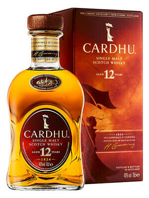 Cardhu 12YO Single Malt Scotch Whisky 700ml (Boxed)