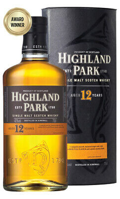Highland Park 12YO Single Malt Scotch Whisky 700ml(Boxed)