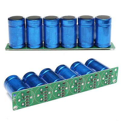 Farad Capacitor 2.7V 500F 6 Pcs/1 Set Super Capacitance With Protection Board