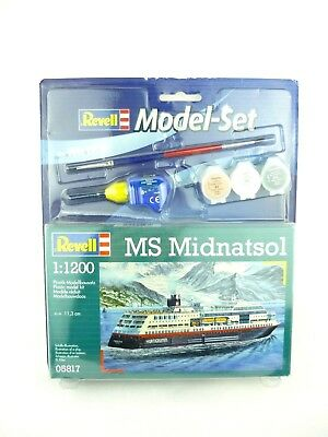 Revell 05817 Model-Set MS Midnatsol Schiffs-Illustration 1:1200