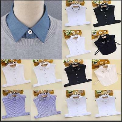 Detachable Multi-Style False Collar Unisex OL Shirt Sweater Fake Collar Lapel