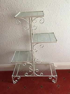 Beautiful Retro Metal And Glass Decorative Shelves-Collection From Derby