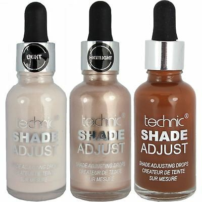 Technic Foundation Makeup Highlighting Shade Adjust Enhancer Illuminator Drops