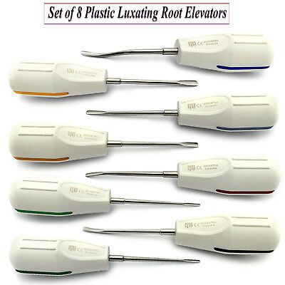 Dental Luxating Root Elevators Surgical Veterinary Tooth Surgery Extracting Kit