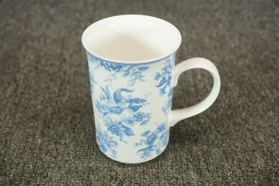 "Whittard Of Chelsea Fine Bone China England 4.5"" Tall White Porcelain Cup"