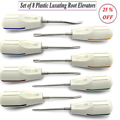 Plastic Luxating Elevators Dental Luxation Oral Surgery Extraction Dentistry New