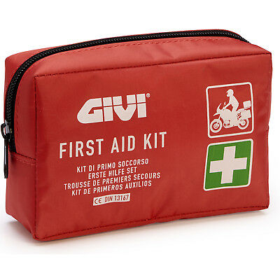 Givi S301 Small Compact Medical Motorcycle Motorbike Travel First Aid Travel Kit