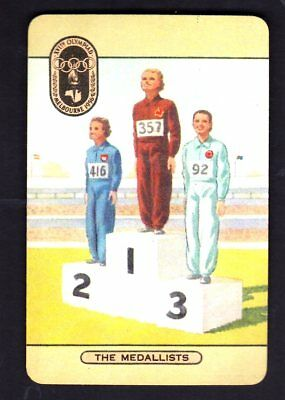 Coles 1956 Olympics Swap Card - The Medalists