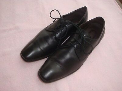 LAURENCE CROCKETT ITALY Men's High Quality Leather Dress Shoes Size 8.5 (42)
