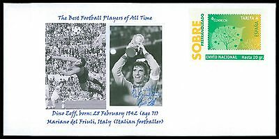 SPAIN PRIVAT-GA GANZSACHE FUßBALL FOOTBALL SOCCER DINO ZOFF RARE!! cd30