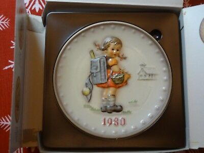 1980 Goebel Hummel Collectors Plate, 7.5 inches, Germany, In the Original Box