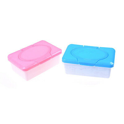 Wet Tissue Paper Case Care Baby Wipes Napkin Storage Box Holder Container UK HL