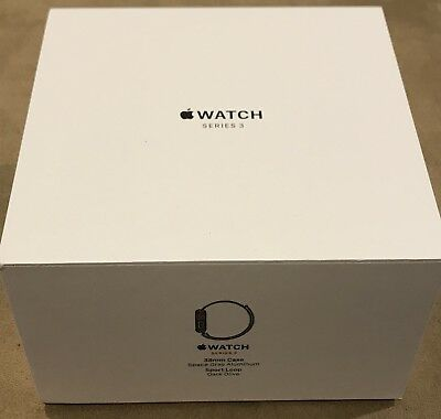 Apple Watch Series 3 38mm Space Gray Sport Loop GPS+Cellular BOX ONLY- NO WATCH!