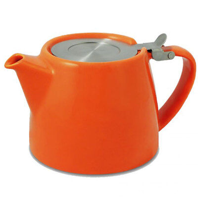 CARROT SUKI FORLIFE 18oz (530ml / 2 CUP) LOOSE LEAF TEAPOT WITH INFUSER