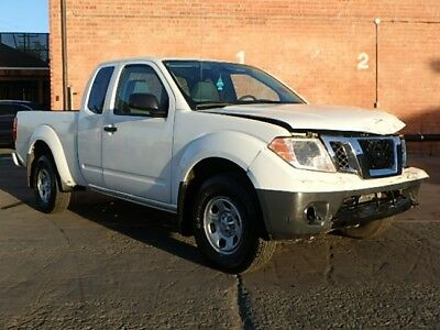 2017 Nissan Frontier King Cab S 2017 Nissan Frontier King Cab S Wrecked Rebuilder Economical Perfect Project!