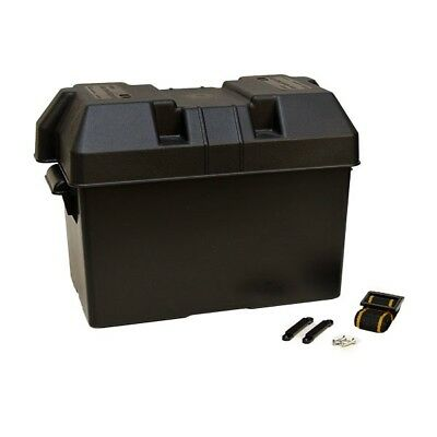 Attwood Boat Vented Battery Box 9067-1 | Power Guard 27M Black