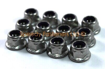 12x Stainles Kart m8 Wheel Nuts IAME Cadet Rotax Max CRG X30 OTK Project One Zip