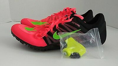 newest collection a861a 4041d NIKE ZOOM JA FLY 2 Track Running Shoe  Spikes  Wrench 705373-603 PUNCH