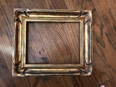 Antique Gilt Frame With 7.5 X 9.5 Opening