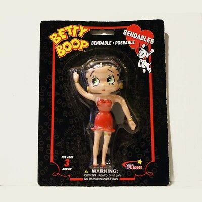 Betty Boop Bendable Poseable Figure