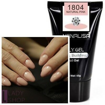 Venalisa Acrylic Poly Gel Nail Extension Building Soak Off  Dual-ended UV Brush